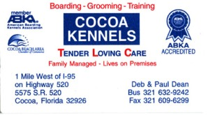 Cocoa Kennels