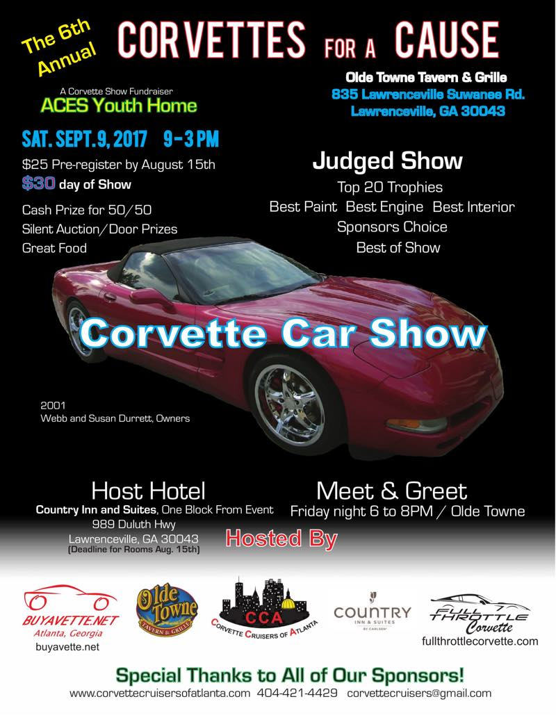 Corvette for a Cause