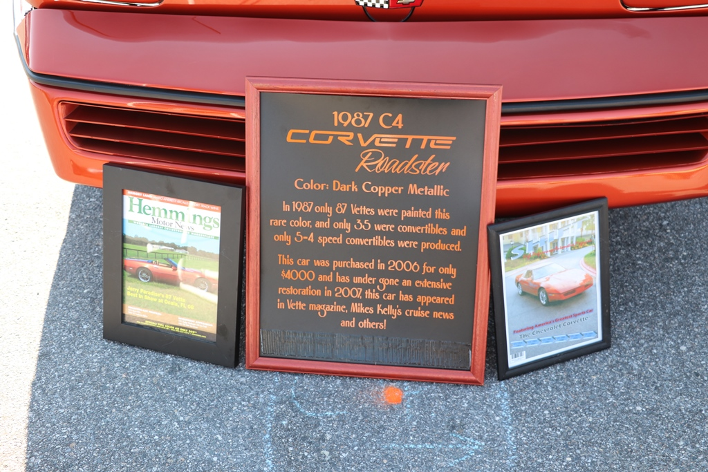 Ecklers 30th corvette reunion 205
