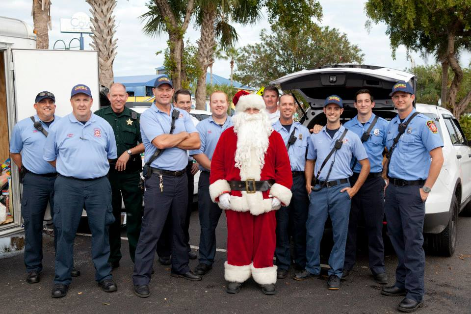2014 Toy Run Canaveral Firefighters