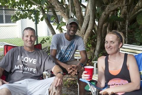 Scott & Tanya O'Rourke & Kevin Charles