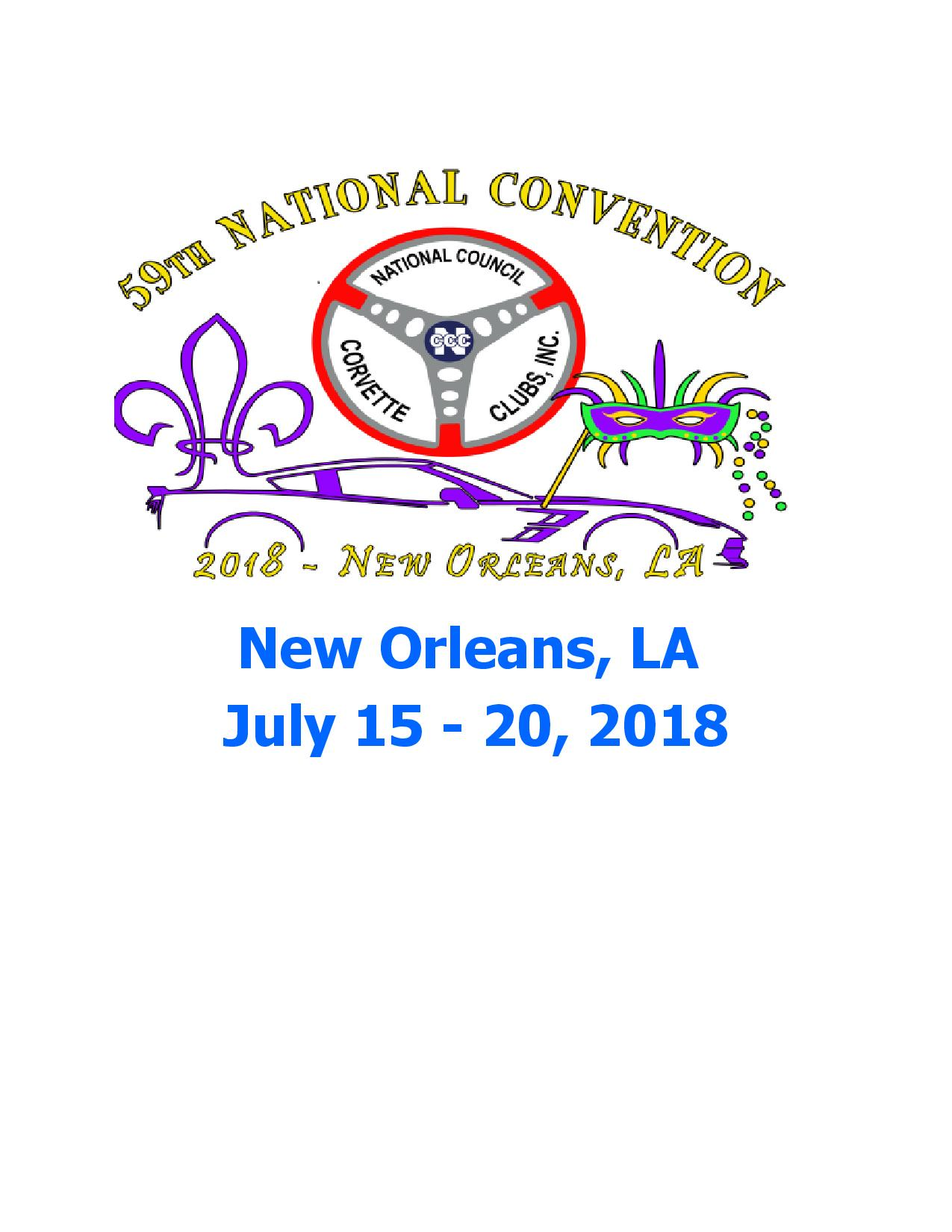 NCCC 2018 New Orleans