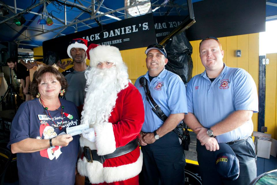 2014 Toy Run CKCC Donation