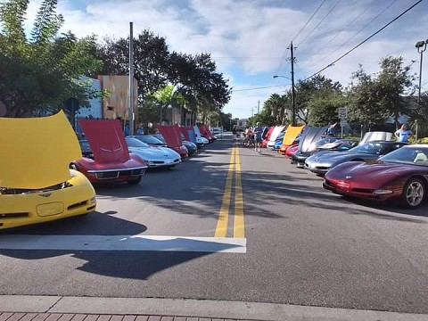 Vettes on the Avenue 4